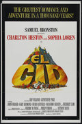 "Movie Posters:Adventure, El Cid (Allied Artists, 1961). One Sheet (27"" X 41""). HistoricalDrama. Directed by Anthony Mann. Starring Charlton Heston, ..."