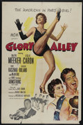 "Movie Posters:Drama, Glory Alley (MGM, 1952). One Sheet (27"" X 41""). Sports Drama. Directed by Raoul Walsh. Starring Ralph Meeker, Leslie Caron, ..."