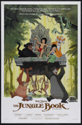 "Movie Posters:Animated, The Jungle Book (Buena Vista, R-1984). One Sheet (27"" X 41"").Family. Directed by Wolfgang Reitherman. Starring Phil Harris,..."