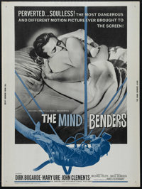 "The Mind Benders (American International, 1963). Poster (30"" X 40""). Sci-Fi. Directed by Basil Dearden. Starri..."
