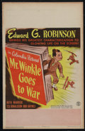 """Movie Posters:Comedy, Mr. Winkle Goes to War (Columbia, 1944). Window Card (14"""" X 22""""). Comedy. Directed by Alfred E. Green. Starring Edward G. Ro..."""