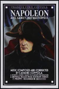 """Napoléon (Zoetrope, R-1981). One Sheet (27"""" X 41""""). Historical Drama. Directed by Abel Gance.Starring A..."""
