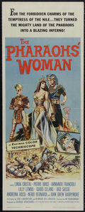 "Movie Posters:Adventure, The Pharaoh's Woman (Universal, 1961). Insert (14"" X 36"").Historical Drama. Directed by Giorgio Rivalti and VictorTourjans..."