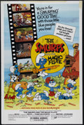 "Movie Posters:Animated, The Smurfs and the Magic Flute (Atlantic Releasing, 1983). One Sheet (27"" X 41""). Children's/Family. Directed by Jose Dutill..."