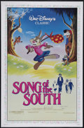 "Movie Posters:Animated, Song of the South (Buena Vista, R-1986). One Sheet (27"" X 41""). Family Comedy/Drama. Directed by Harve Foster and Wilfred Ja..."