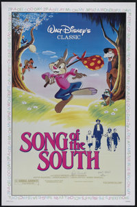 "Song of the South (Buena Vista, R-1986). One Sheet (27"" X 41""). Family Comedy/Drama. Directed by Harve Foster..."