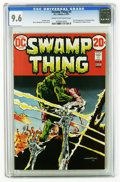 Bronze Age (1970-1979):Horror, Swamp Thing #3 (DC, 1973) CGC NM+ 9.6 Cream to off-white pages.First full appearance of Patchwork Man, and first appearance...
