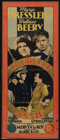 """Movie Posters:Comedy, Tugboat Annie (MGM, 1933). Insert (12.5"""" X 34.5""""). Comedy. Directed by Mervyn LeRoy. Starring Marie Dressler, Wallace Beery,..."""