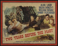 "Movie Posters:Adventure, Two Years Before the Mast (Paramount, 1946). Half Sheet (22"" X28""). Adventure...."