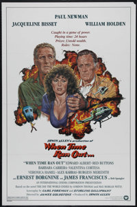 """When Time Ran Out... (Warner Brothers, 1980). One Sheet (27"""" X 41""""). Disaster/Action. Directed by James Goldst..."""