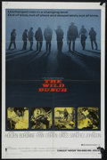 """Movie Posters:Western, The Wild Bunch (Warner Brothers, 1969). One Sheet (27"""" X 41""""). Western. Directed by Sam Peckinpah. Starring William Holden, ..."""