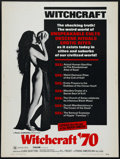 """Movie Posters:Documentary, Witchcraft '70 (Trans American, 1970). Poster (30"""" X 40""""). Documentary. Directed by Luigi Scattini. Keywords: Cult, Coven, W..."""