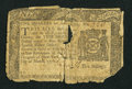 Colonial Notes:New York, New York March 5, 1776 $1/4 Good.. ...