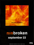 "Movie Posters:Rock and Roll, Nine Inch Nails: Broken (Interscope, 1992). EP Poster (24"" X31.25"") Advance. Rock and Roll.. ..."
