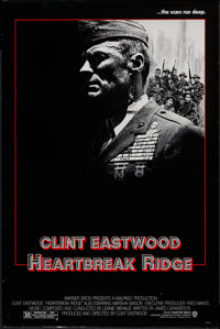 "Heartbreak Ridge & Other Lot (Warner Brothers, 1986). One Sheets (2) (27"" X 40.5"") Advance & R..."