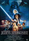 "Movie Posters:Science Fiction, Return of the Jedi (20th Century Fox, 1983). Swedish One Sheet(27.5"" X 39.5""). Science Fiction.. ..."