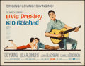 "Movie Posters:Elvis Presley, Kid Galahad (United Artists, 1962). Half Sheet (22"" X 28""). ElvisPresley.. ..."