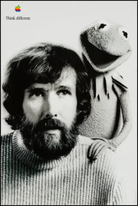 """Jim Henson for Apple Computers & Other Lot (Apple, 1997). Advertising Posters (2) (24"""" X 36"""") """"Th..."""