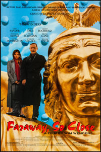 """Faraway, So Close (Sony Pictures Classics, 1993). One Sheet (27"""" X 41"""") Single Sided. Foreign"""