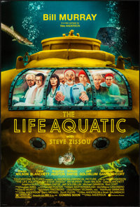 "The Life Aquatic with Steve Zissou (Buena Vista, 2004). One Sheet (27"" X 40"") DS Advance. Comedy"