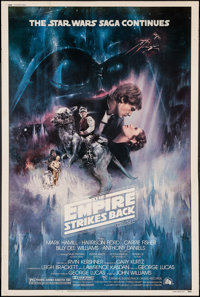 "The Empire Strikes Back (20th Century Fox, 1980). Poster (40"" X 60"") Style A. Science Fiction"