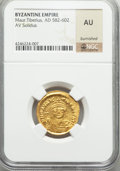 Ancients:Byzantine, Ancients: Maurice Tiberius (AD 582-602). AV solidus....