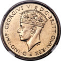 British West Africa, British West Africa: George VI copper-nickel Specimen 3 Pence1940-KN SP65 NGC,...