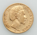 German States:Bavaria, German States: Bavaria. Ludwig II gold 10 Mark 1878-D VF,...