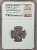 Ancients:Oriental, Ancients: PARTHIAN KINGDOM. Phraates IV (38/7-2 BC). AR drachm (3.81 gm)....