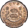 Mexico, Mexico: Ferdinand VI 2 Reales 1747 Mo-M UNC Details (SurfaceHairlines) NGC,...