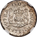 Mexico, Mexico: Ferdinand VI 1/2 Real 1751 Mo-M UNC Details (Bent) NGC,...