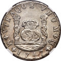 Mexico, Mexico: Ferdinand VI 8 Reales 1747 Mo-MF AU Details (SurfaceHairlines) NGC,...