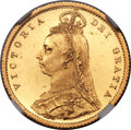 Great Britain: Victoria gold Proof 1/2 Sovereign 1887 PR60 Ultra Cameo NGC