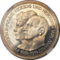 German States:Anhalt-Dessau, German States: Anhalt-Dessau. Friedrich II Proof 5 Mark 1914-A PR65Cameo NGC,...