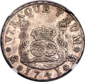 Mexico, Mexico: Philip V 4 Reales 1741 Mo-MF VF Details (Surface Hairlines)NGC,...