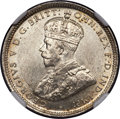 British West Africa, British West Africa: George V silver Shilling 1920 MS63 NGC,...
