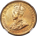 British West Africa, British West Africa: George V tin-brass 6 Pence 1920-KN and 1923-KN(Lot of 2 Coins),... (Total: 2 coins)