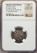 Ancients:Celtic, Ancients: BRITISH CELTS. Durotriges. Ca. 65 BC-AD 45. BIL stater(3.49 gm)....