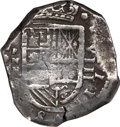 Colombia, Colombia: Philip IV Cob 8 Reales (162)8 RN-E VF Details (Scratches) NGC,...
