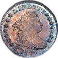 Early Dimes, 1796 10C JR-6, R.3, MS65 NGC....