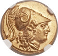 Ancients:Greek, Ancients: MACEDONIAN KINGDOM. Alexander III the Great (336-323 BC).AV stater (19mm, 8.61 gm, 12h).  ...