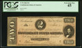 Confederate Notes:1864 Issues, T70 $2 1864.. ...