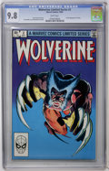 Modern Age (1980-Present):Superhero, Wolverine (Limited Series) #2 (Marvel, 1982) CGC NM/MT 9.8 Whitepages....