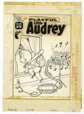 Original Comic Art:Covers, Warren Kremer - Playful Little Audrey #65 Cover Original Art(Harvey, 1966). Little Audrey finds a way to practice her music...
