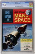 Silver Age (1956-1969):Adventure, Dell Giants #27 Man In Space - File Copy (Dell, 1960) CGC NM 9.4 Off-white to white pages....