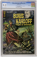 Silver Age (1956-1969):Horror, Boris Karloff Tales of Mystery #4 Pacific Coast pedigree (Gold Key,1963) CGC NM- 9.2 Off-white to white pages....