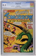 Silver Age (1956-1969):Science Fiction, Showcase #41 Tommy Tomorrow (DC, 1962) CGC VF+ 8.5 Off-white pages....