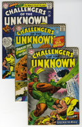 Silver Age (1956-1969):Adventure, Challengers of the Unknown Silver Age Group (DC, 1966-98). Includes issues #50, 51, 56, 57, 58, 59, 60, 61, 62, 63, 64, 65, ... (Total: 35 Comic Books)