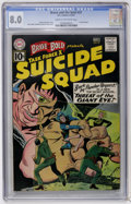Silver Age (1956-1969):Adventure, The Brave and the Bold #37 Task Force X Suicide Squad (DC, 1961) CGC VF 8.0 Cream to off-white pages....
