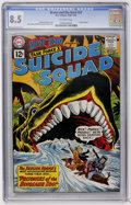Silver Age (1956-1969):Adventure, The Brave and the Bold #39 Task Force X Suicide Squad (DC, 1962) CGC VF+ 8.5 Off-white pages....